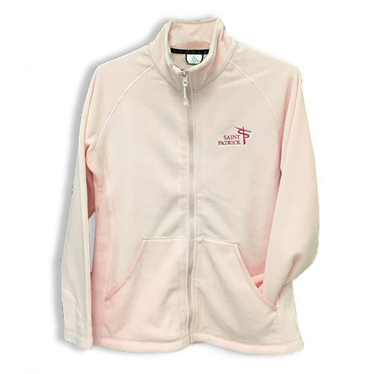 Womens Full Zip Fleece Jacket