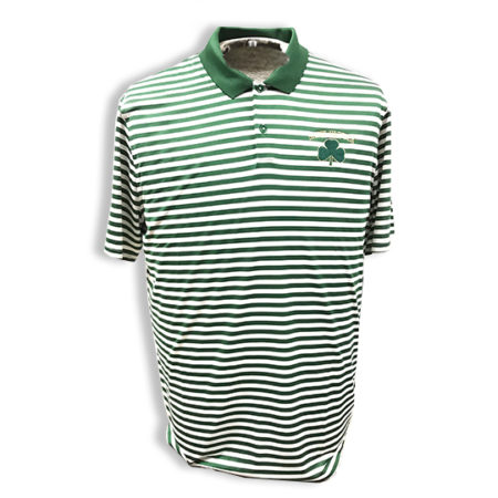 Mens Striped Nike Polo