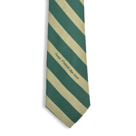 Green and Gold Tie
