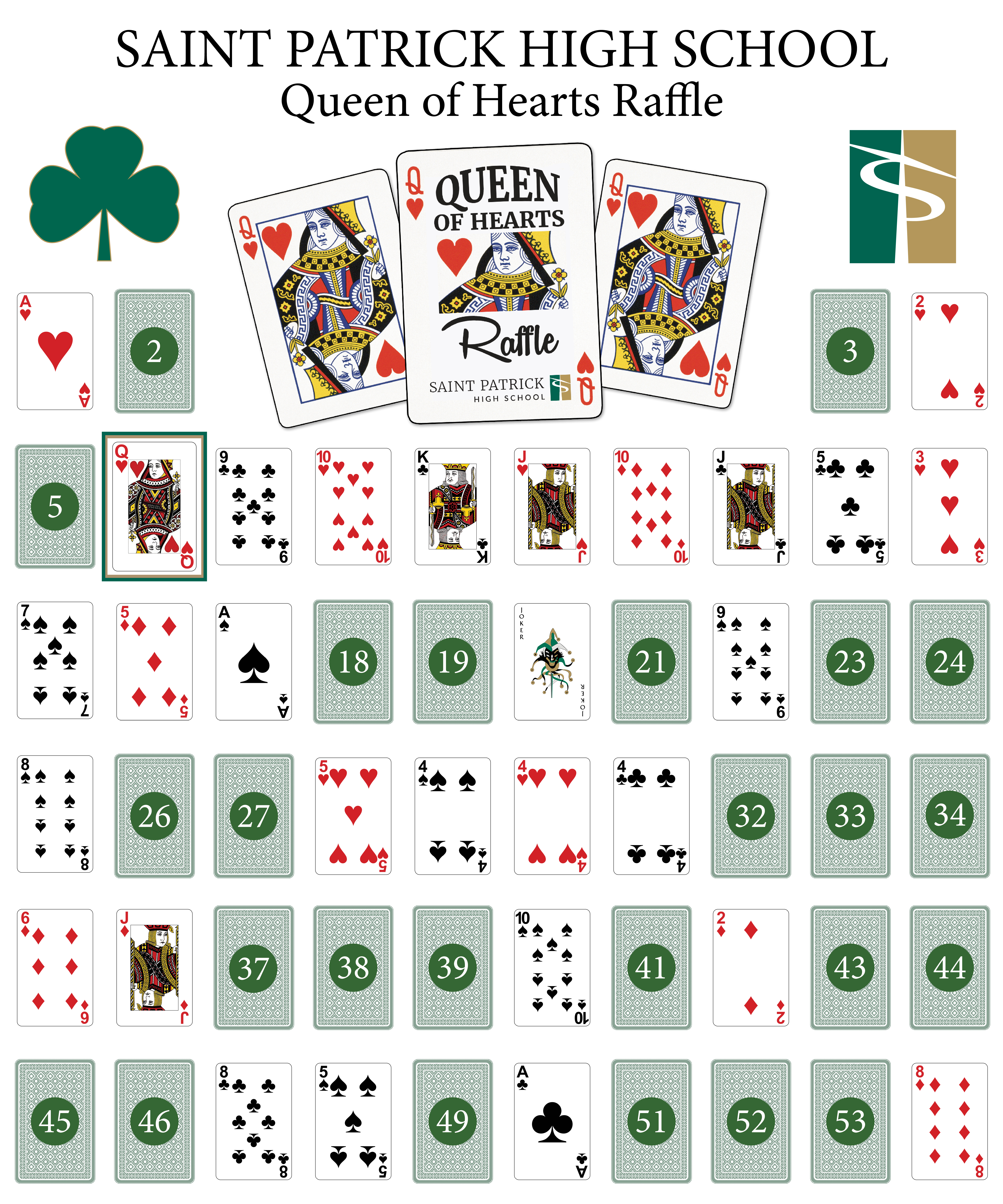 Queen of Hearts Digital Live Board