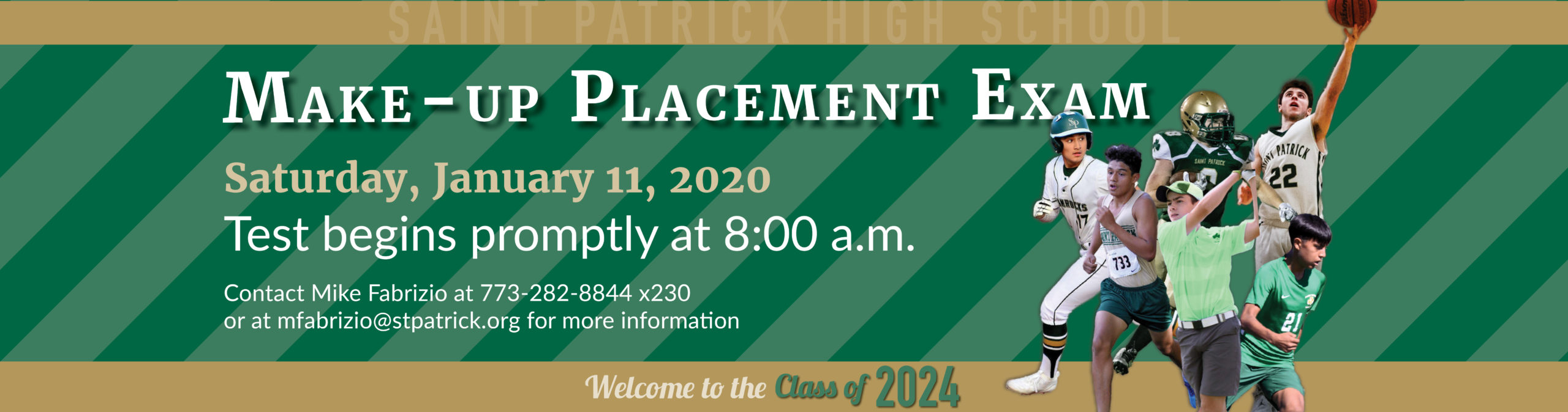 Make-up Placement Exam 2020